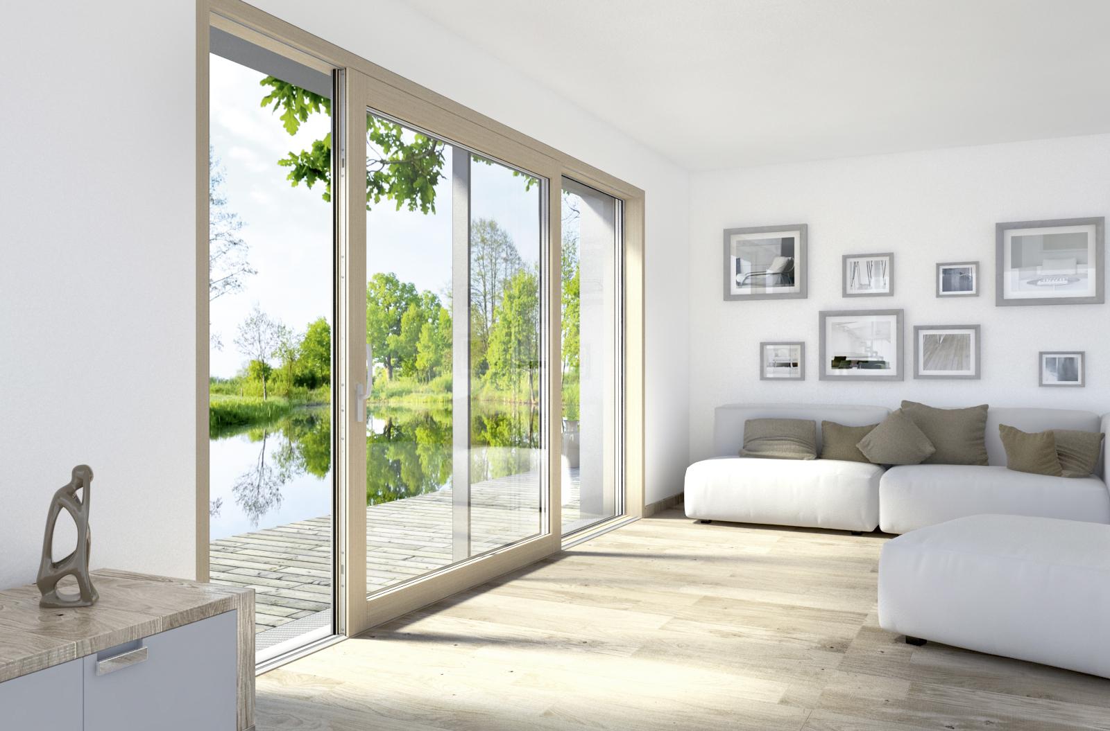 Infissi in legno alluminio marocchi design - Controfinestre in alluminio prezzi ...