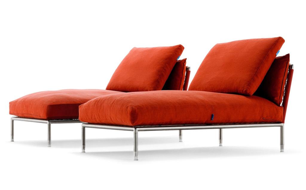 Chaise longue da esterno coro imola marocchi design - Chaise longue da esterno ...