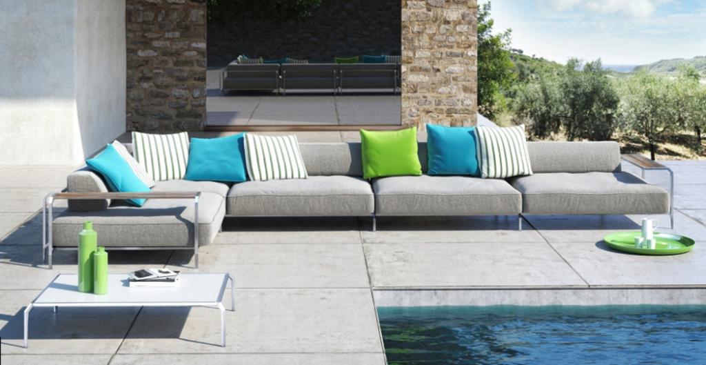 Poltrone e divani da esterno coro imola marocchi design - Divani da esterno ...
