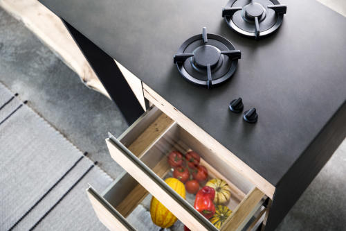 isola cucina linea teredo - om officinae imola - marocchi design
