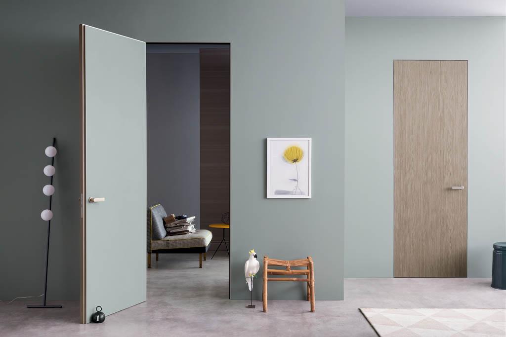 Porte Interne Imola in alluminio, legno, vetro | Marocchi Design