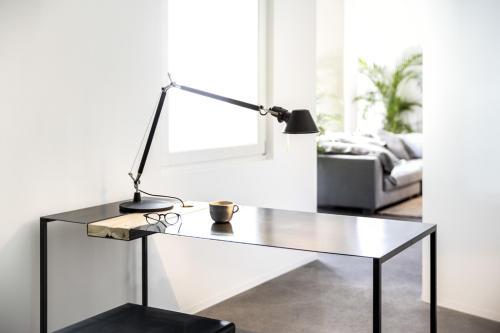 scrivania linea teredo - om officinae imola - marocchi design